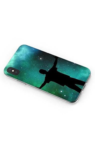 Lopard iPhone Xs Max Kılıf Silikon Arka Kapak Koruyucu Gecenin Adamı Desenli Full HD Baskılı Renkli